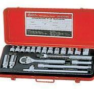 天赋工具20件英制套筒扳手组GS-320图片