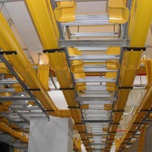 电缆桥架货架兰色图片