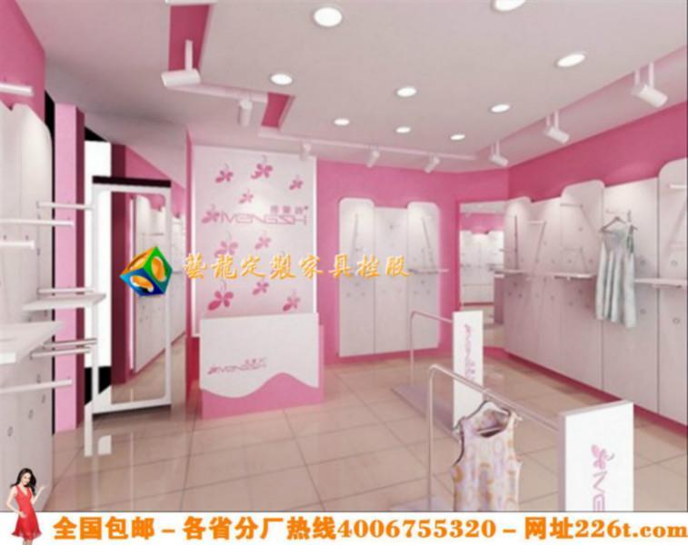 创意服装店装修个性服装店装修效果图1228高清图片