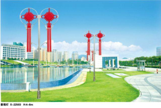 供应LED中国结灯中国结景观灯图片