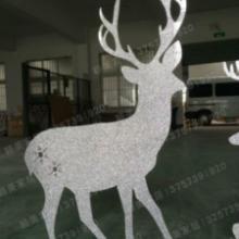 供应PVC闪金雕刻小鹿婚庆橱窗道具摆件,炫彩小鹿摆件,PVC闪金雕刻小鹿批发批发