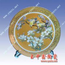 供应各类陶瓷纪念盘人工彩绘纪念盘