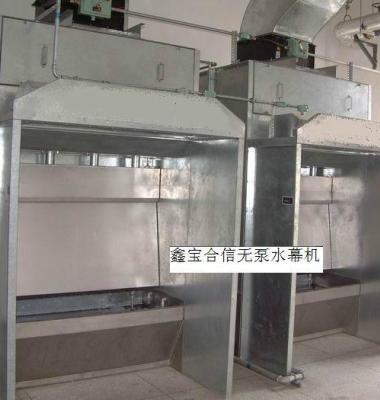 无泵水帘环保喷漆台图片/无泵水帘环保喷漆台样板图 (2)