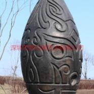 园林青铜雕塑图片