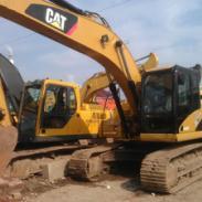 卡特320d挖掘机图片