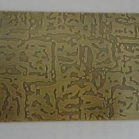 不锈钢304自由纹青古铜  定制不锈钢自由纹青古铜