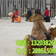儿童毛绒电动动物玩具车/电动诸葛马玩具/广场公园毛绒电瓶车图片