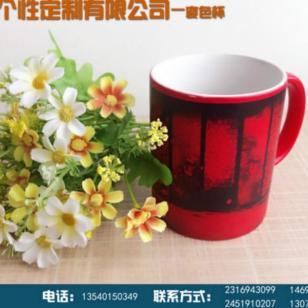 自贡商务广告促销杯子上印照片图片