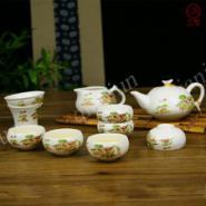 创意陶瓷亚光功夫茶具套装图片