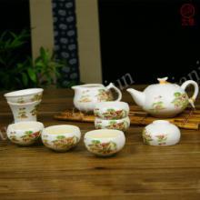 供应创意陶瓷亚光功夫茶具套装