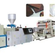 自由发泡板厚板装饰板生产线图片