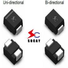 供应电子保护器件TVS二极管SMBJ15CA图片