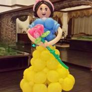 气球人偶/气球造型人偶图片