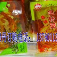 金针菇山椒福建特产零食高丽金针菇图片
