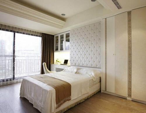 床头背景墙软包满天星图片