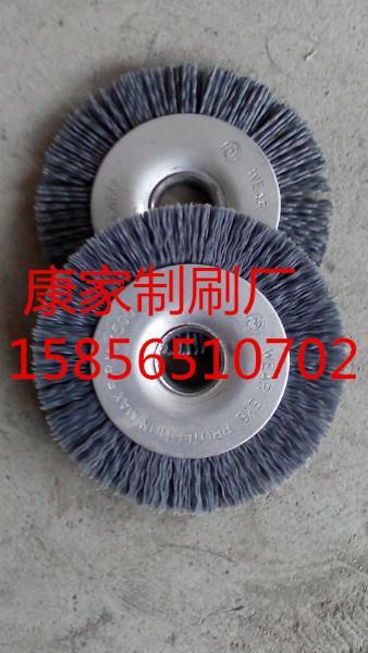 供应毛刷轮磨料丝刷轮毛刷轮生产厂家