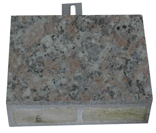 供应将军红超薄石材保温装饰一体板