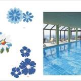 供应宜宾游泳池专用地砖直销,宜宾游泳池防滑地砖批发