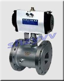 供应BQ641F法兰保温气动球阀 ,气动球阀,保温球阀,不锈钢保温球阀