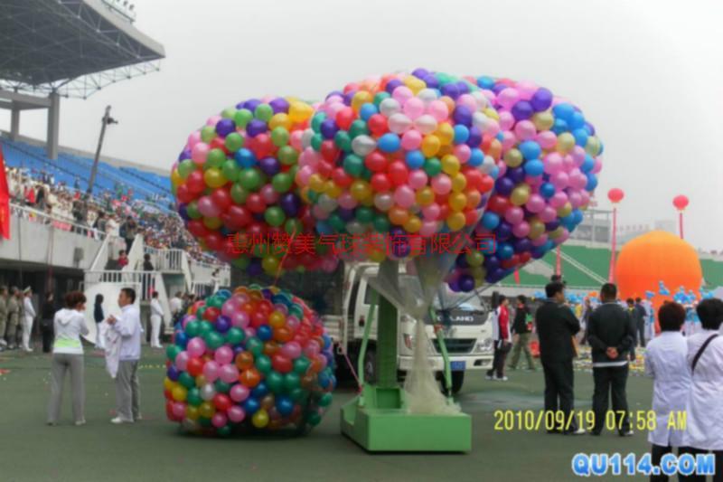 供应赣州年会氦气球装饰,春节气球装饰