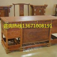 红木古典写字台丨红木古典书桌图片