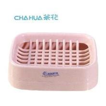 供应茶花卫生香皂盒滴水架/肥皂盒/皂盘