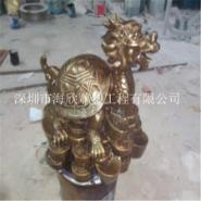 供应深圳玻璃钢动物雕塑/仿铜乌龟雕塑/彩绘小羊雕塑/看门狮子雕塑订做