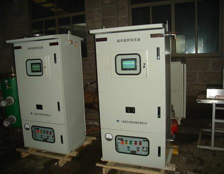 供应宁波新芝超声波除垢设备现在安装我公司超声波除垢设备现在安装实例