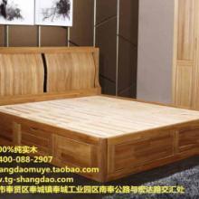 供应尚岛木业线纯榆木卧室高箱床尚岛木业线纯榆木卧室高箱床