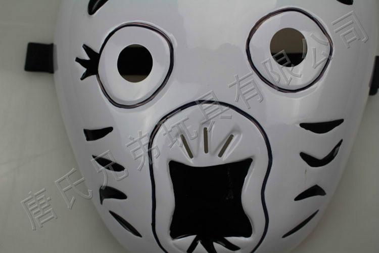 供应熊猫面具动物卡通动漫面具热销批发定制批发卡通动漫表演面具 -