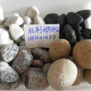 灵寿3-5cm滤料鹅卵石厂家直销价钱图片
