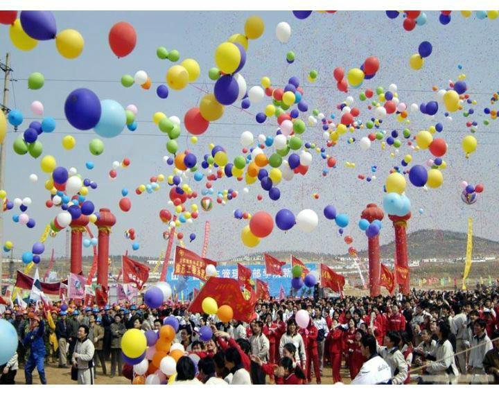 宝宝百天宴氦气球,氦气球装饰,舞台氦气球图片大全