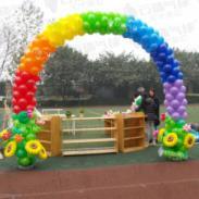 气球拱门/成都气球装饰/气球造型图片