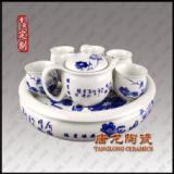 青花瓷茶具厂,高档青花瓷茶具