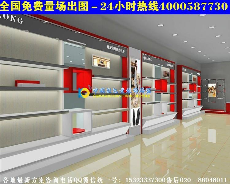 上海鞋店装修图个性鞋店门头装修风格H高清图片