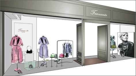 供应武汉服装店橱窗设计的本质就是销售赫伦美筑设计装修