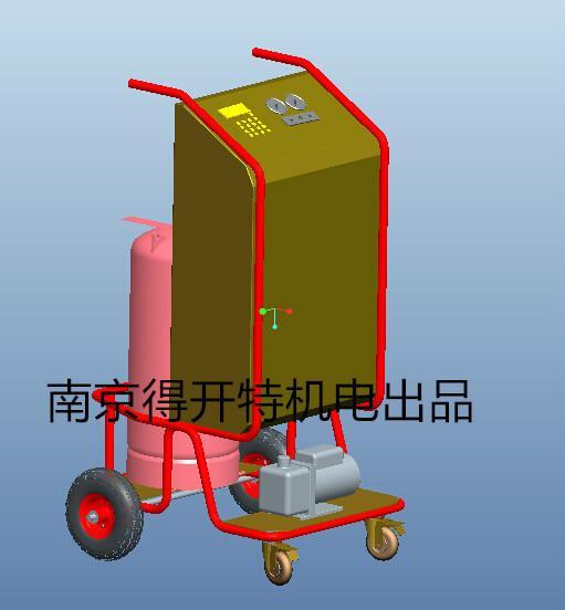 供应DKT系列车式冷媒回收机车式冷媒回收机厂商车式冷媒回收机供应