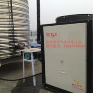 上海10-15吨空气能热水工程图片