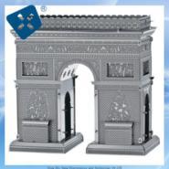 供应建筑模型蚀刻片/3D立体玩具组装件/不锈钢电蚀片