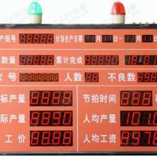 供应古铃LED电子看板-030东莞石排,石龙管理产线电子看板图片