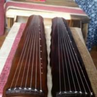 供应扬州欧阳南亲斫落霞古琴15万收藏古琴