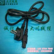 订做3芯欧式品字尾插头电源AC线图片