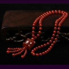 供应项链毛衣链(红玛瑙)