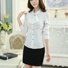 供应新款长袖衬衫、时尚女长袖衬衫订做