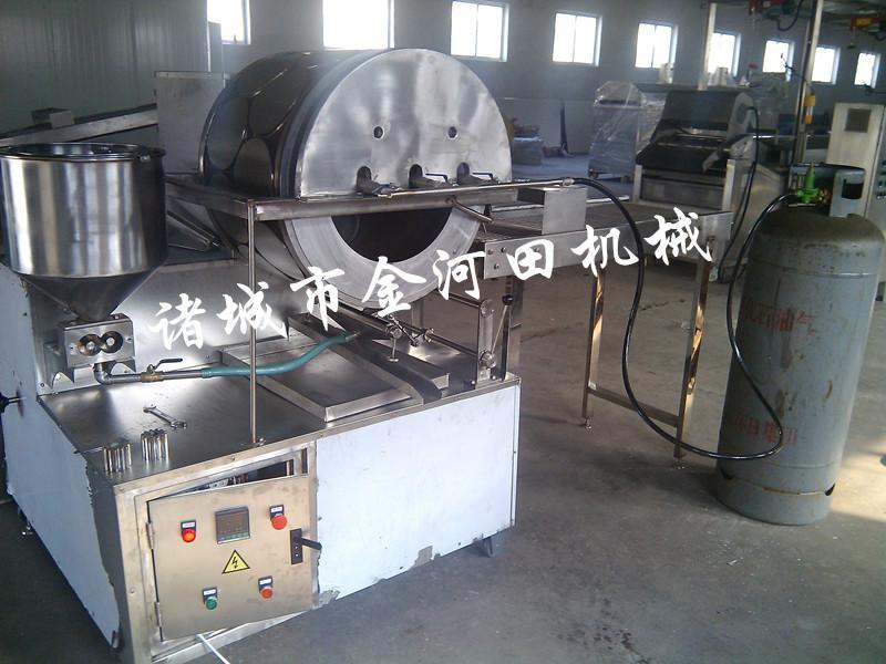 供应170燃气型圆形春卷皮机丨春卷皮机价格丨小型春卷皮机