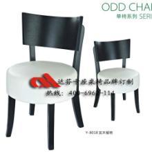 广东厂家批发定制复古个性快餐餐椅  简约快时尚快餐桌椅   实木餐椅Y-8018图片