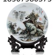工艺品陶瓷盘生产图片