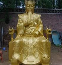 供应铸铜玉皇大帝雕塑.玉皇大帝生产厂家