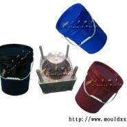 18L塑料化工桶模具图片
