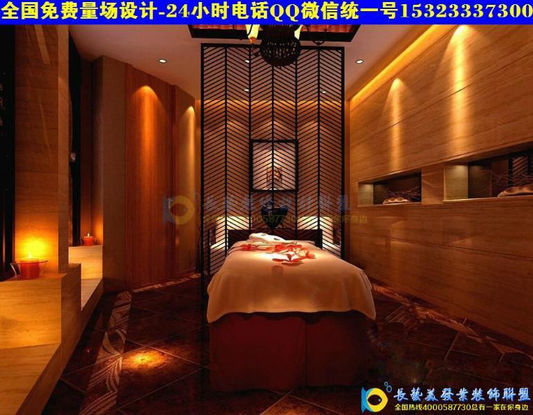 中大型美发店装修效果图风格2 14 中国店配网福州站 一呼百应高清图片